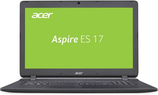 Acer ASPIRE ES1-732-P4UB 43.9 cm (17.3 Zoll) Notebook Intel® Pentium® 4 GB 256 GB SSD Intel HD Graphics 505 Windows® 1