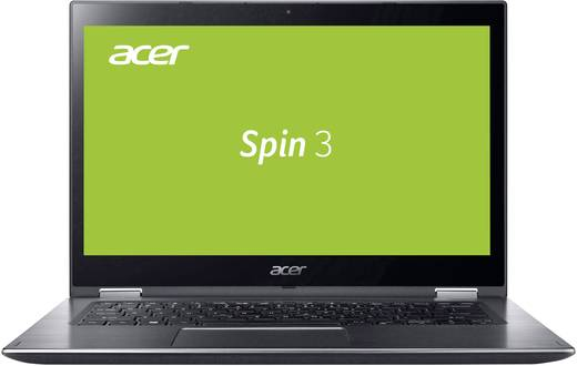 Acer SPIN 3 SP314-51-34CD Windows®-Tablet / 2-in-1 35.6 cm (14.0 Zoll) 128 GB Wi-Fi Grau Intel Core i3 2.7 GHz Dual Cor