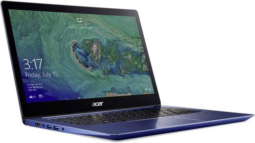 Acer SWIFT 3 SF314-52-33VV 35.6 cm (14.0 Zoll) Ultrabook Intel Core i3 4 GB 128 GB SSD Intel HD Graphics 620 Blau
