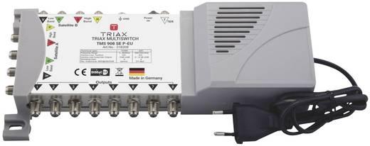 Triax TMS 908 SE P-EU SAT Multischalter Eingänge (Multischalter): 9 (8 SAT/1 terrestrisch) Teilnehmer-Anzahl: 8