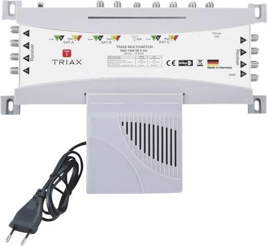 SAT Multischalter Triax TMS 1308 SE P-EU Eingänge (Multischalter): 13 (12 SAT/1 terrestrisch) Teilnehmer-Anzahl: 8