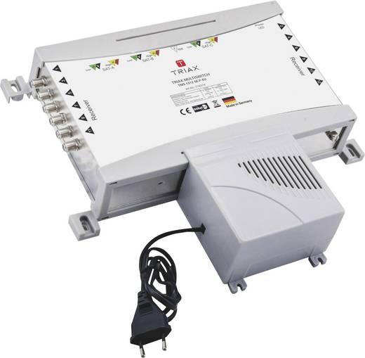 SAT Multischalter Triax TMS 1312 SE P-EU Eingänge (Multischalter): 13 (12 SAT/1 terrestrisch) Teilnehmer-Anzahl: 12
