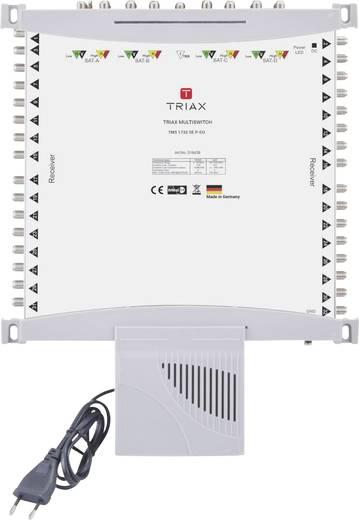 SAT Multischalter Triax TMS 1732 SE P-EU Eingänge (Multischalter): 17 (16 SAT/1 terrestrisch) Teilnehmer-Anzahl: 32