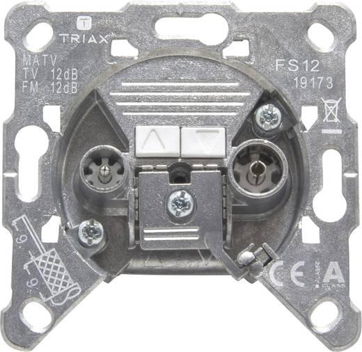 Triax FS 12 Antennendose UKW, TV Unterputz Durchgangsdose