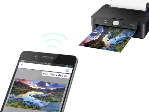Epson Expression Photo HD XP-15000 Tintenstrahldrucker A3+ LAN, WLAN, Duplex