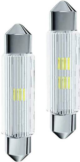 LED-Soffitte S8.5 Warm-Weiß 12 V/AC, 12 V/DC 17.40 lm Signal Construct MSOC113952HE