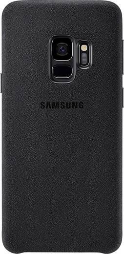 Samsung Alcantara Cover Backcover Passend für: Samsung Galaxy S9 Schwarz