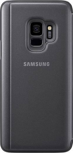 Samsung Clear View Backcover Passend für: Samsung Galaxy S9 Schwarz