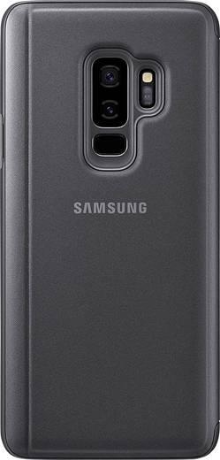 Samsung Clear View Backcover Passend für: Samsung Galaxy S9+ Schwarz