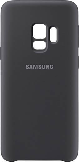Samsung Silicone Cover Backcover Passend für: Samsung Galaxy S9 Schwarz