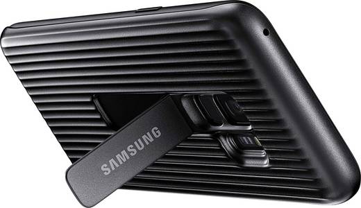 Samsung Protective Standing Cover Backcover Passend für: Samsung Galaxy S9 Schwarz