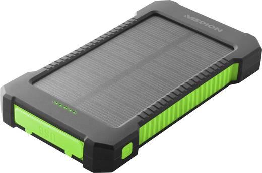 Medion Solar Powerbank Life Power MD 43404 Solar-Ladegerät Ladestrom Solarzelle 140 mA Kapazität (mAh, Ah) 8000 mAh