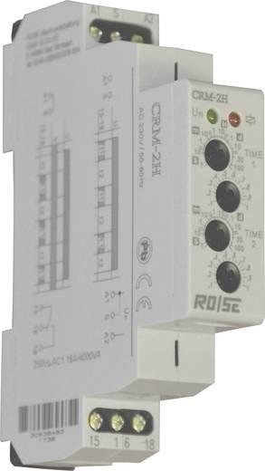 Rose LM CRM-2H/230 Zeitrelais Multifunktional 230 V/AC 1 St. Zeitbereich: 0.1 s - 100 Tage 1 Wechsler