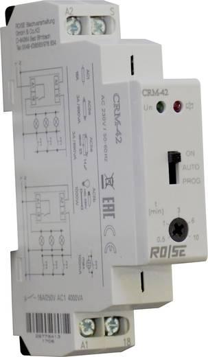 Rose LM CRM-42/230 Treppenhaus-Lichtautomat 230 V/AC 1 St. Zeitbereich: 30 s - 10 min 1 Wechsler