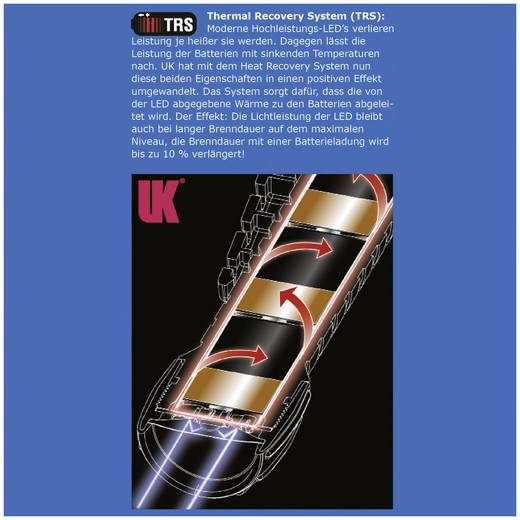 Taschenlampe Ex Zone: 1 UK Underwater Kinetics UK 3AA eLED® CPO TS 110 lm 150 m