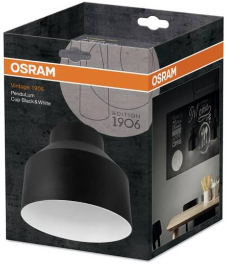 osram vintage 1906 cup 4058075073425 lampenschirm schwarz wei kaufen. Black Bedroom Furniture Sets. Home Design Ideas