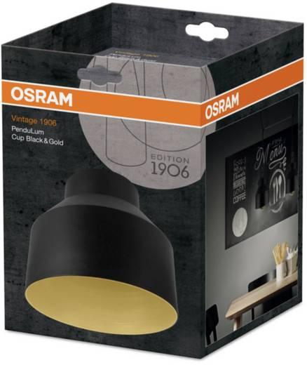 OSRAM Vintage 1906 Cup 4058075073449 Lampenschirm Gold, Schwarz