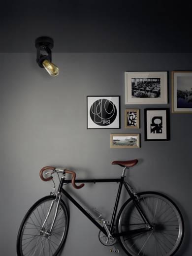 Deckenstrahler LED, Halogen E27 60 W OSRAM Vintage 1906 4058075073586 Schwarz