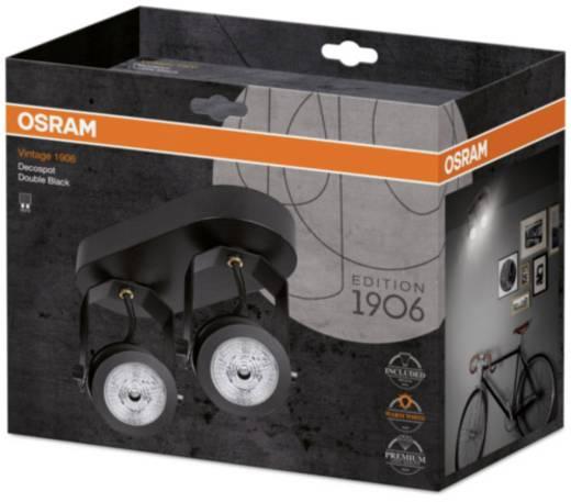Deckenstrahler LED GU10 EEK: A+ (A++ - E) 12.2 W OSRAM Vintage 1906 4058075073852 Schwarz