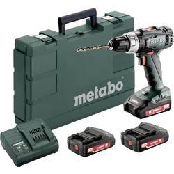 Aku vŕtací skrutkovač Metabo BS 18 L Set 602321540, 18 V, 2 Ah, Li-Ion akumulátor