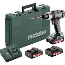 Aku vrtací šroubovák Metabo BS 18 L Set 602321540, 18 V, 2 Ah, Li-Ion akumulátor