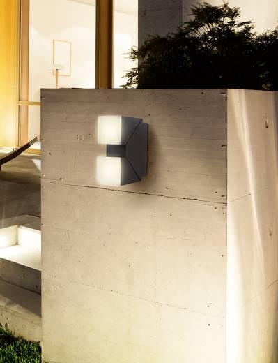 LED-Wandleuchte 13 W Warm-Weiß Polarlite DoubleSpot 13 Dunkel-Grau