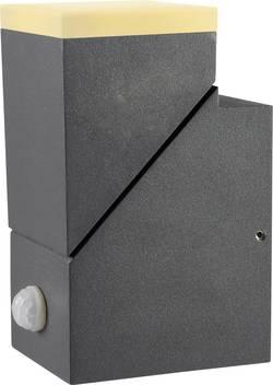 LED nástěnné světlo s PIR detektorem Polarlite Spot Pir8 PL-8232020, teplá bílá, tmavě šedá