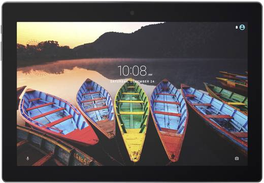 Lenovo Tab3 10 Plus TB3-X70F Android-Tablet 25.7 cm (10.1 Zoll) Wi-Fi Schwarz 1.3 GHz Quad Core Android™ 6.0 Marshmall