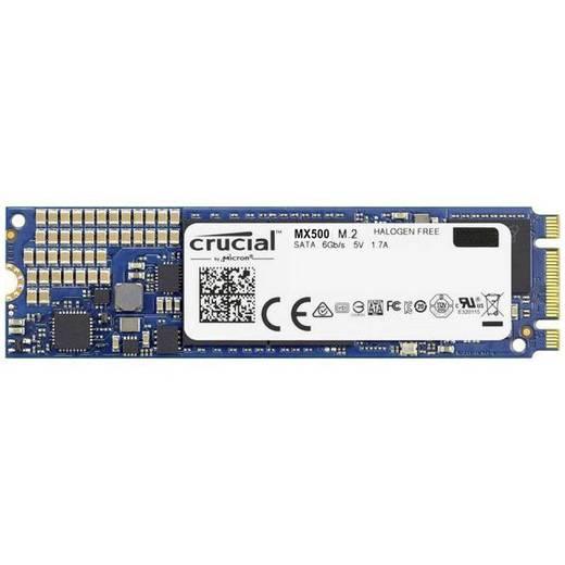 Interne SATA M.2 SSD 2280 1 TB Crucial MX500 Retail CT1000MX500SSD4 M.2
