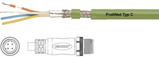 Sensor-/Aktor-Steckverbinder, konfektioniert M12 Stecker, gerade 0.50 m Polzahl: 4 Helukabel 806481 PROFInet C PUR CMX M