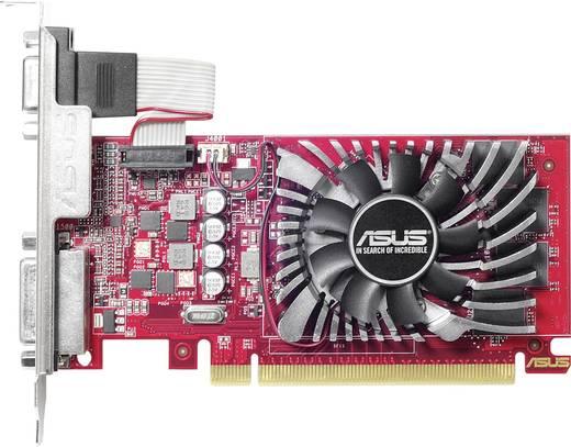 Asus Grafikkarte AMD Radeon R7 240 Overclocked 4 GB GDDR5-RAM PCIe x16 HDMI™, DVI, VGA, DisplayPort
