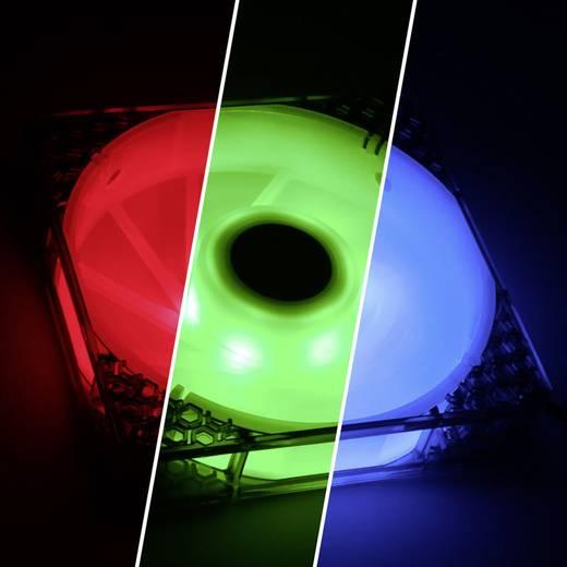 Bitfenix Spectre Pro RGB PC-Gehäuse-Lüfter Schwarz (transparent), Weiß (transparent) (B x H x T) 120 x 120 x 25 mm