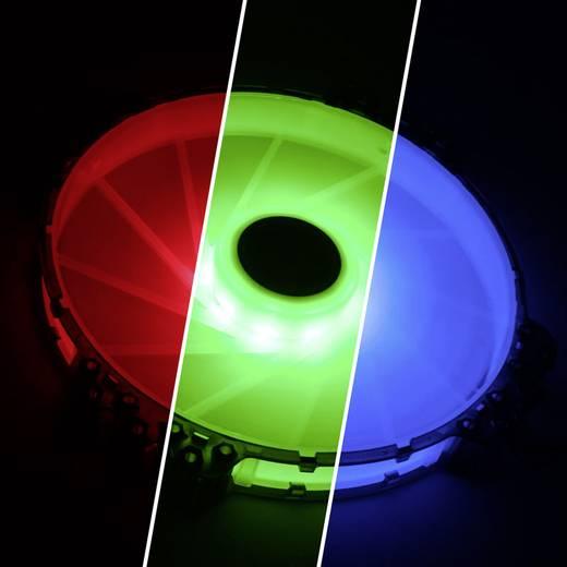 PC-Gehäuse-Lüfter Bitfenix Spectre Pro RGB Schwarz (transparent), Weiß (transparent) (B x H x T) 200 x 200 x 25 mm