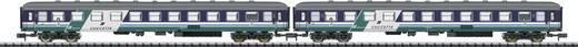 MiniTrix T15541 N 2er-Set Liegewagen der FS