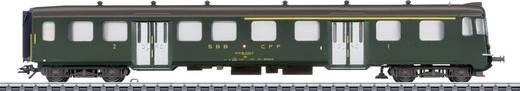 Märklin 43411 H0 Steuerwagen der SBB 1./2. Klasse
