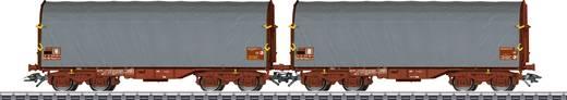 Märklin 47218 H0 2er-Set Schiebeplanenwagen der SNCF