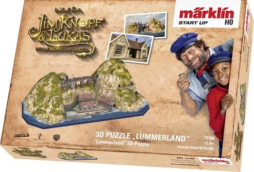"""Märklin Start up 72786 3D Puzzle """"Lummerland"""""""