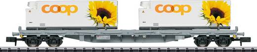 MiniTrix T15937 N Containertragwagen der SBB