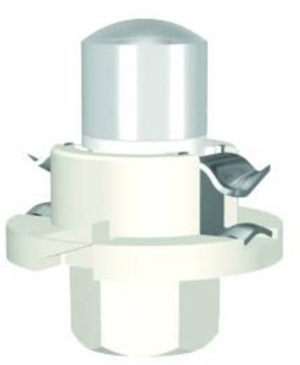 LED-Lampe BX8,4d Rot 12 V/AC, 12 V/DC 400 mcd Signal Construct MWTH8402