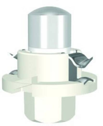 Signal Construct LED-Lampe BX8,4d Rot 12 V/AC, 12 V/DC 400 mcd MWTH8402