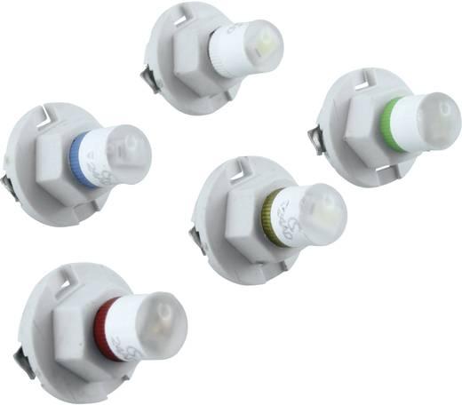 LED-Lampe BX8,4d Weiß 24 V/AC, 24 V/DC 600 mcd Signal Construct MWTH8464