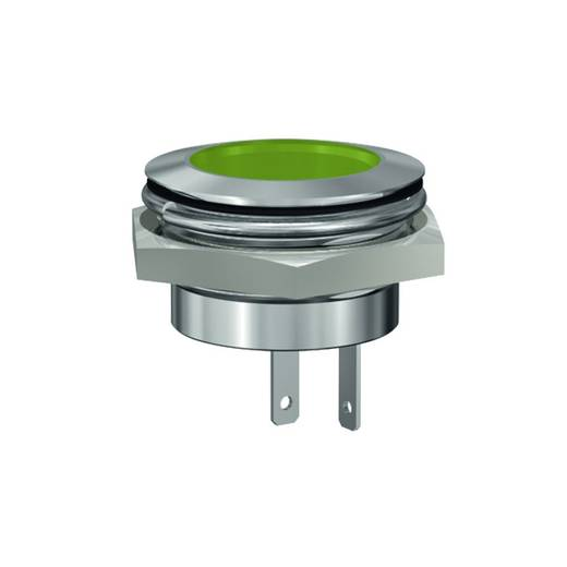 LED-Signalleuchte Gelb 24 V/DC Signal Construct SMFL22114