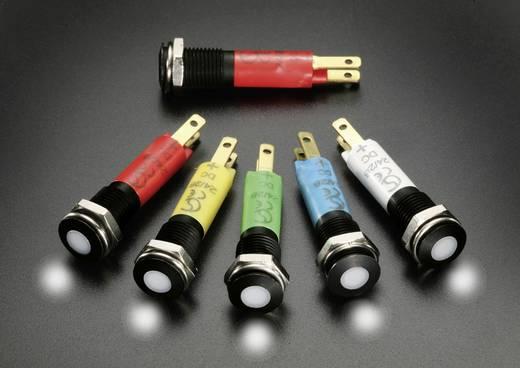 LED-Signalleuchte Gelb 12 V/AC, 12 V/DC Signal Construct SFEU081225