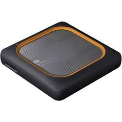 Pevný disk Wi-Fi SSD WD My Passport™ Wireless SSD, 1 TB, USB Host, USB 3.0, Wi-Fi 802.11 b/g/n, sivá