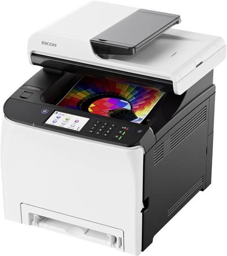 Ricoh SP C260SFNw Farblaser-Multifunktionsdrucker A4 Drucker, Scanner, Kopierer, Fax LAN, WLAN, Duplex, ADF, NFC