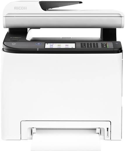 Ricoh SP C261SFNw Farblaser-Multifunktionsdrucker A4 Drucker, Scanner, Kopierer, Fax LAN, WLAN, Duplex, Duplex-ADF, NFC