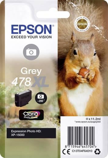Epson Tinte T04F6, 478XL Original Grau C13T04F64010