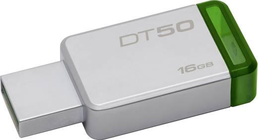 Kingston DataTraveler 50 USB-Stick 16 GB Silber, Grün DT50/16GB AT