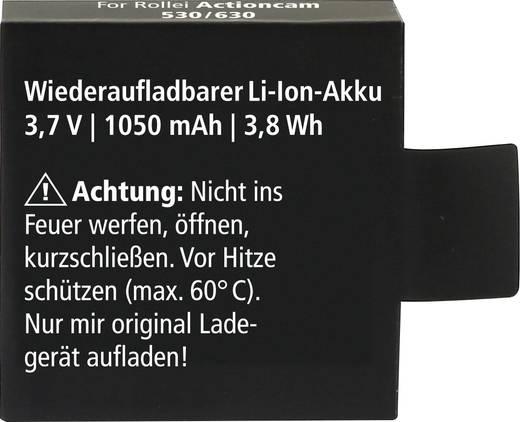 Kamera-Akku Rollei ersetzt Original-Akku AC530 3.7 V 1050 mAh AC530
