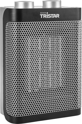 Tristar KA-5064 Keramik-Heizlüfter Schwarz, Silber